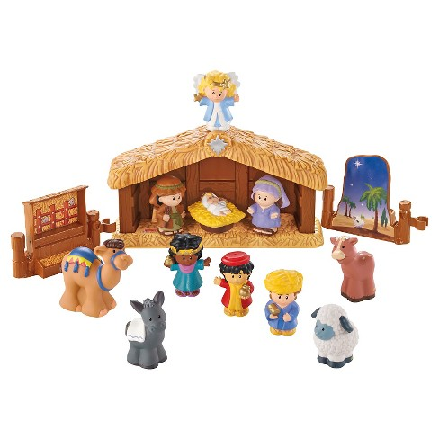 Fisher-Price Little People Nativity Playset - image 1 of 4