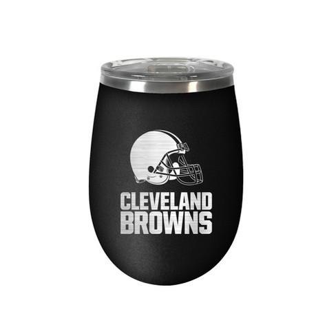 NFL Cleveland Browns Stealth Wine Tumbler - 12oz - image 1 of 1