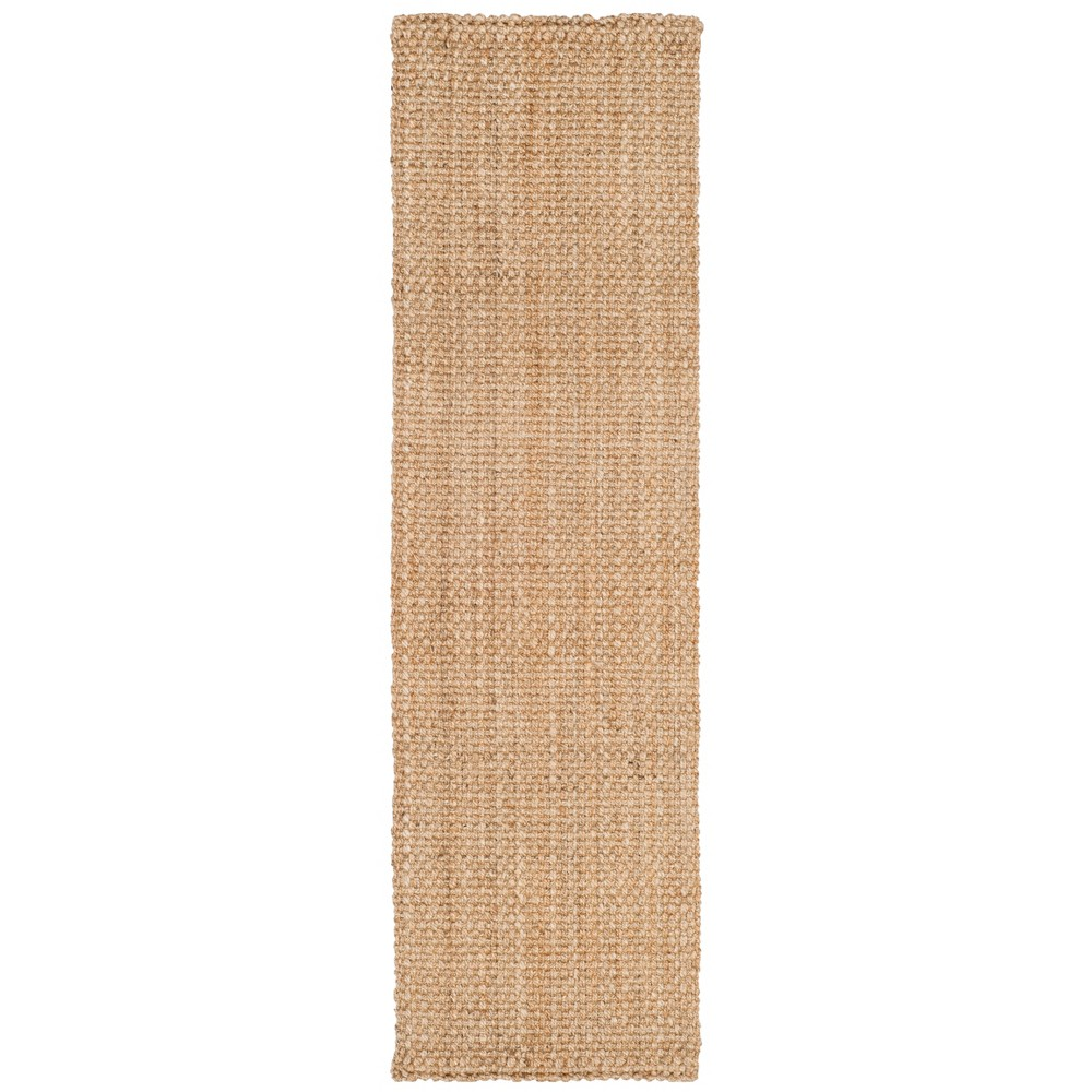 Best Sale 23X12 Woven Solid Runner Rug Natural Safavieh White