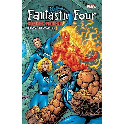 Fantastic Four: Heroes Return - The Complete Collection Vol. 1 - (Paperback) - image 1 of 1