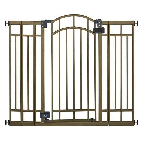 Summer Infant Walk Thru Multi Use Bronze Deco Extra Tall Baby Gate