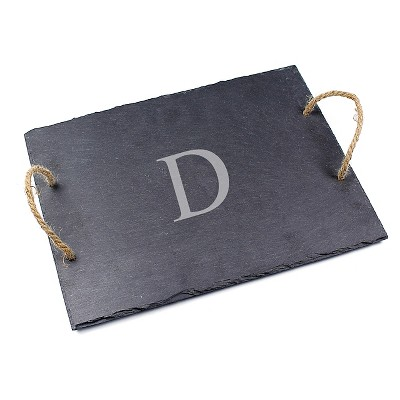 Cathy's Concepts Personalized Slate Serving Board - D