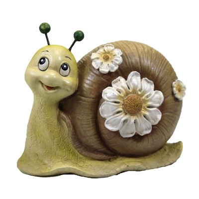 """Home & Garden 5.0"""" Mini Snail Painted Critter Landscaping Accent Roman, Inc  -  Outdoor Sculptures And Statues"""