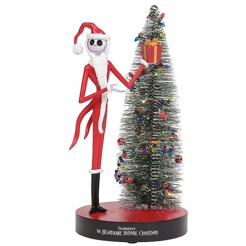 Department 56 Christmas Tree.Department 56 Nightmare Before Christmas Jack Skellington With Lighted Christmas Tree 9 5 Inches