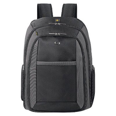 "Solo 17"" Pro-Sterling Backpack - Black"
