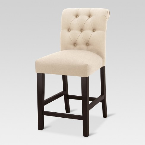 Sterling Tufted Counter Height Barstool - Threshold™ - image 1 of 4