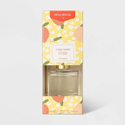 118.3ml Boxed Citrus Sunset Reed Diffuser Set - Opalhouse™