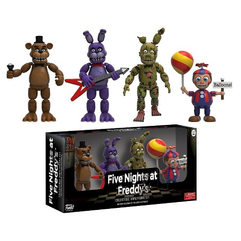 "Five Nights at Freddy's Action Figures 2"" - 4Pk - image 1 of 1"
