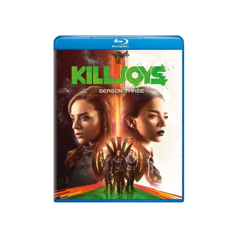 Killjoys Season Three Blu Ray