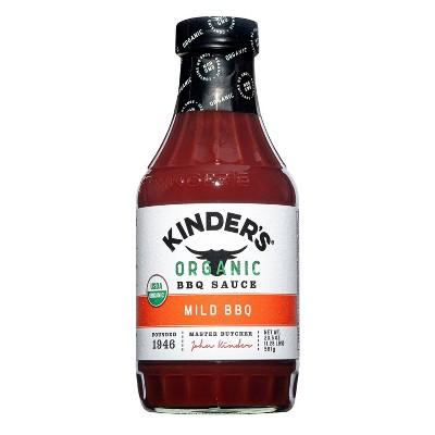 Kinder's Organic Mild BBQ Sauce - 20.5oz