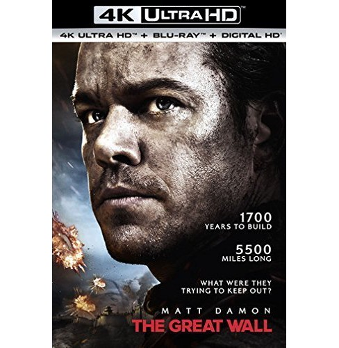 The Great Wall (4K/UHD + Blu-ray + Digital) - image 1 of 1