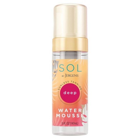 SOL By Jergens Sunless Tanning Deep Water Mousse - 5 fl oz - image 1 of 4