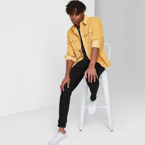 Men's Long Sleeve Button-Up Textured Shirt Jacket - Original Use™ - image 1 of 3