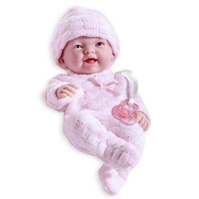 "JC Toys Mini La Newborn Boutique 9.5"" Girl Doll -  Pink"