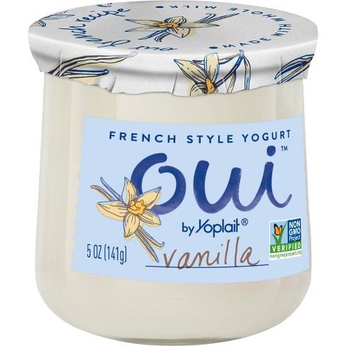 Oui by Yoplait Vanilla Flavored French Style Yogurt - 5oz - image 1 of 4