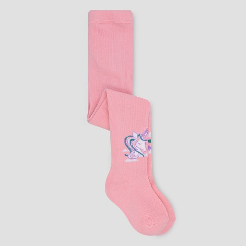 e349488ccaa21 Toddler Girls' Unicorn Mid-Rise Tights - Cat & Jack™ Pink : Target