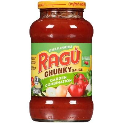 Ragu Chunky Garden Combination Pasta Sauce - 24oz