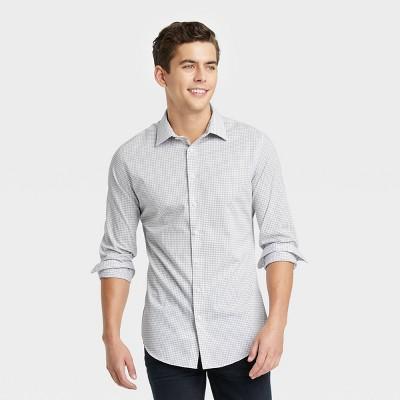 Men's Slim Fit Long Sleeve Button-Down Shirt - Goodfellow & Co™