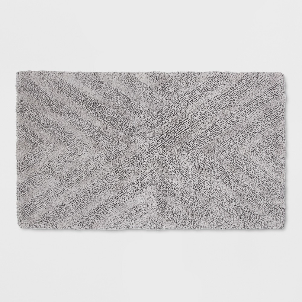 "Image of ""20""""x34"""" Solid Bath Rug Gray - Project 62 + Nate Berkus"""