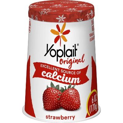 Yoplait Original Strawberry Yogurt - 6oz