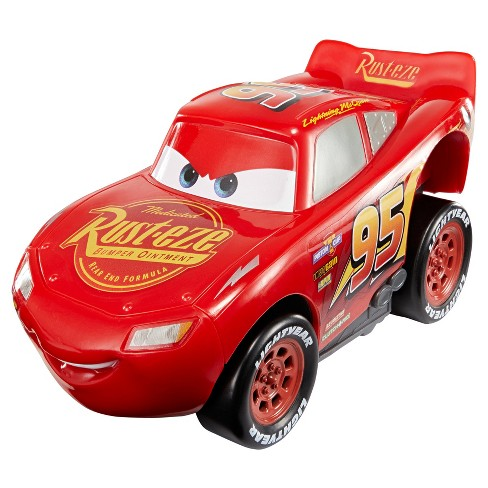 Disney Pixar Cars 3 - Revvin' Action Lightning McQueen Vehicle - image 1 of 4