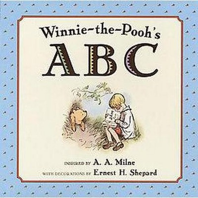 Winnie-the Pooh's ABC (Hardcover)(A. A. Milne)