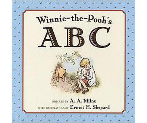 Winnie-the Pooh's ABC (Hardcover) (A. A. Milne) - image 1 of 1
