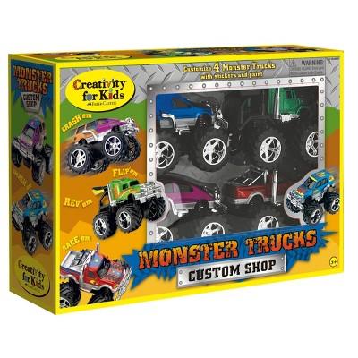 Monster Trucks Custom Shop - Creativity for Kids
