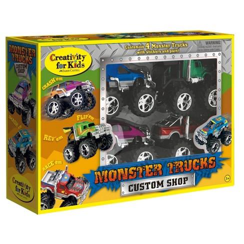 Monster Trucks Custom Shop - Creativity for Kids - image 1 of 4