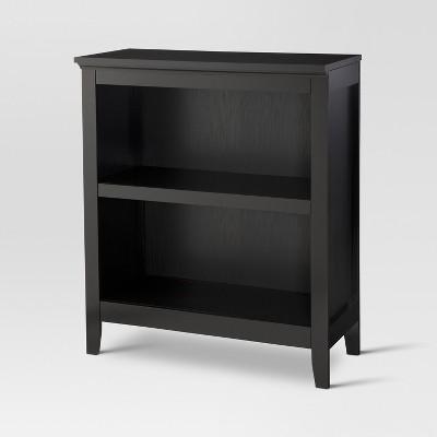 Carson 36  2 Shelf Bookcase - Black - Threshold™