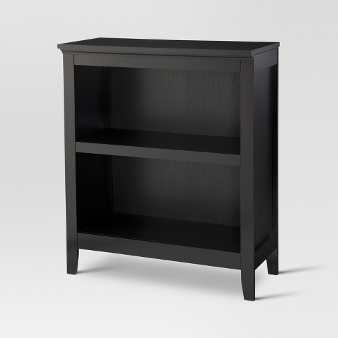 "Carson 36"" 2 Shelf Bookcase - Black - Threshold™ : Target"