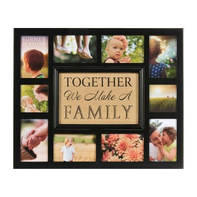 Burnes of Boston Multiple Picture Frame - Brown (3X5 )