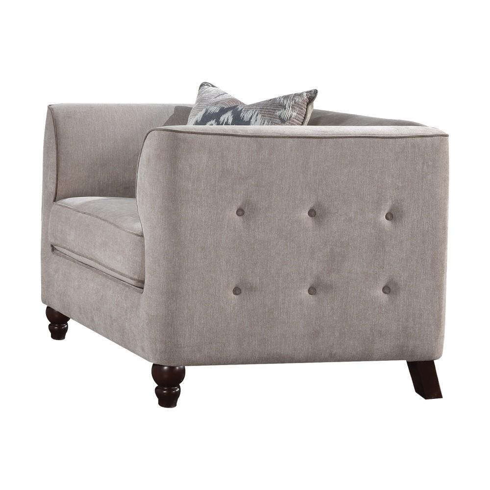 Acme Furniture Cyndi Chair Light Gray Acme Furniture Cyndi Chair Light Gray Gender: unisex.