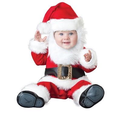 InCharacter Deluxe Santa Baby Infant/Toddler Costume