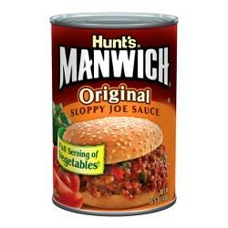 Hunt's Manwich Sloppy Joe Sauce Original - 15.5oz