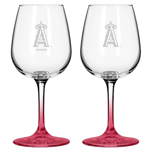 MLB Angels Wine Glass - Set of 2 - 12oz. - image 1 of 1