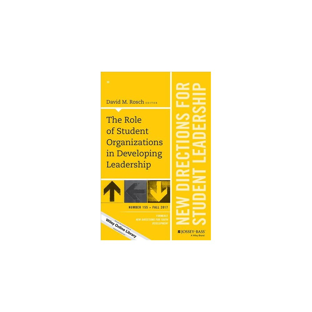 Role of Student Organizations in Developing Leadership (Paperback) (David Rosch)