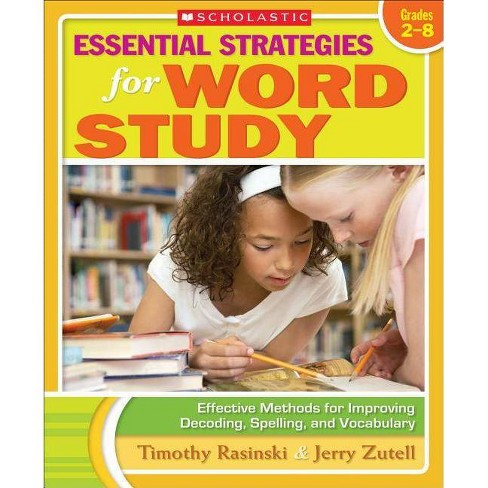 Essential Strategies for Word Study - by  Timothy Rasinski & Jerry Zutell & Timothy V Rasinski - image 1 of 1
