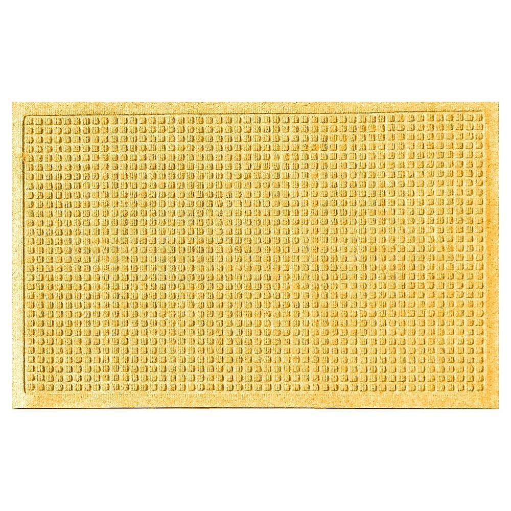 Yellow Solid Doormat - (2'X3') - Bungalow Flooring