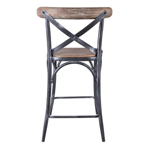 30 Catherine Industrial Counter Height Barstool Barstool Pine Modern Home Target