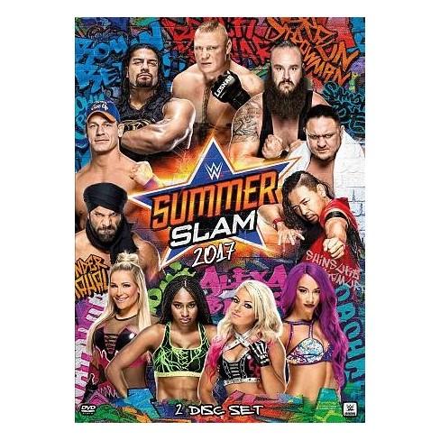 wwe summerslam 2017 dvd target