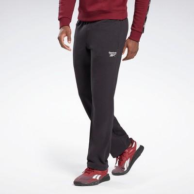 Reebok Identity Open Hem Pants Mens Athletic Pants