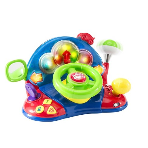 Bright Starts™ Lights, Lights Baby™ Lights & Colors Driver Toy - image 1 of 3