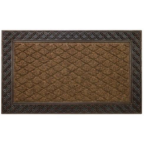 """1'6""""x2'6"""" Link Doormat Brown - Mohawk Chain - image 1 of 4"""