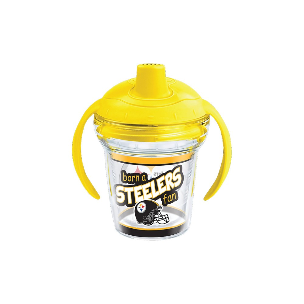 Tervis NFL Pittsburgh Steelers Born A Fan 6oz Sippy Cup with Lid