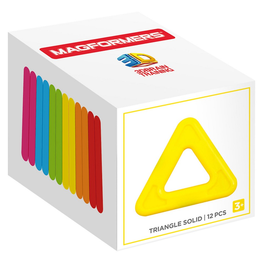 Magformers Triangle Building Set 12pc