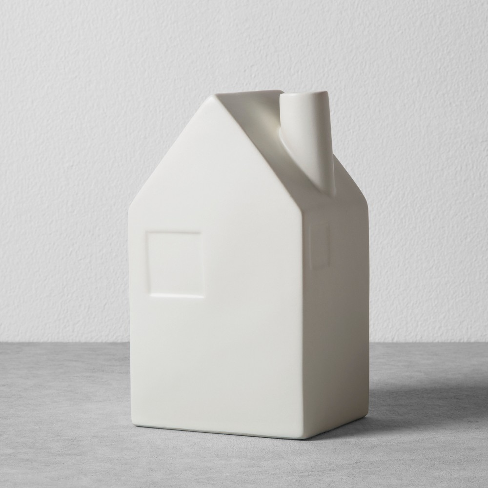 House Bud Vase Large Cream (Ivory) - Hearth & Hand with Magnolia