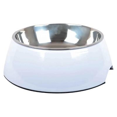 Melamine Cat and Dog Bowl - White - Medium - Boots & Barkley™