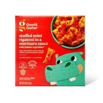 Frozen Stuffed Mini Rigatoni in a Marinara Sauce -with Hidden Vegetables - 8oz - Good & Gather™