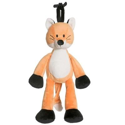 TriAction Toys Teddykompaniet Diinglisar Collection 10 Inch Musical Plush Animal | Fox